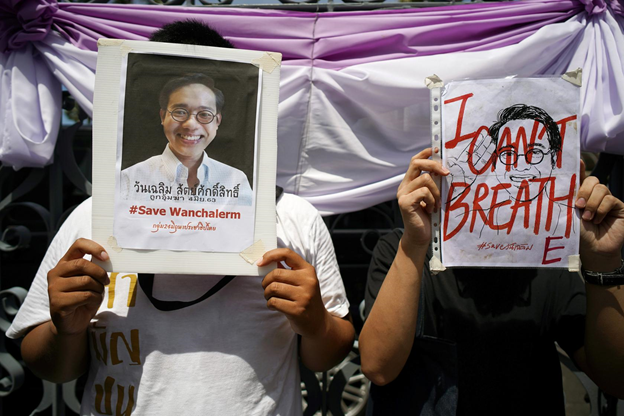 Thailand: Protesters demand investigation of exiled activists' kidnapping