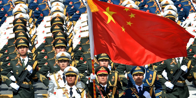 What goes behind China's army?