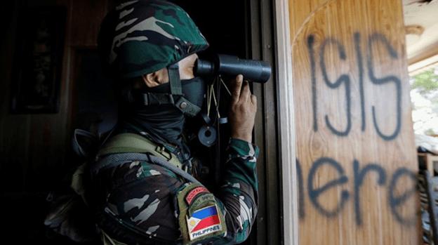 Four ISIS militants killed near Philippine capital