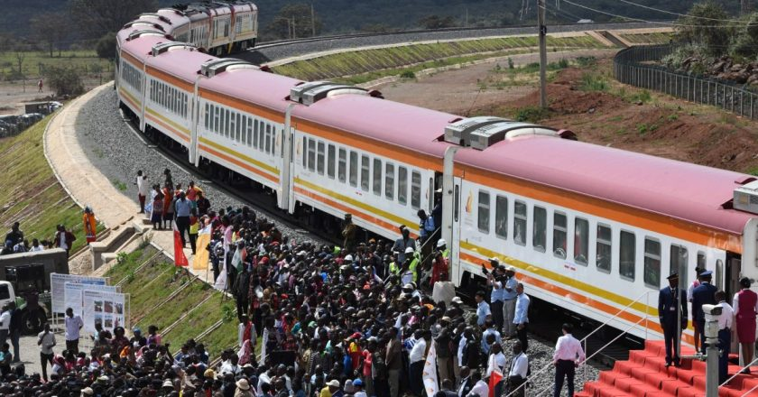 SP  Kenyan court declares $3.2 billion railway contract with China illegal