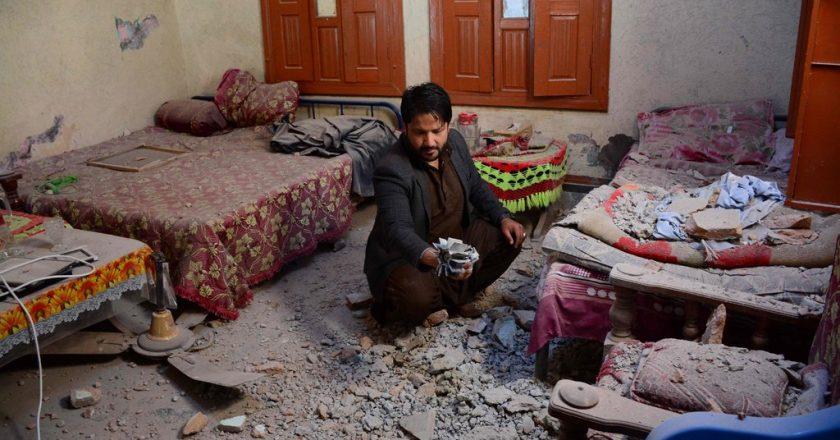 Women risk the blasts or sexual assault in Pakistani-held Kashmir