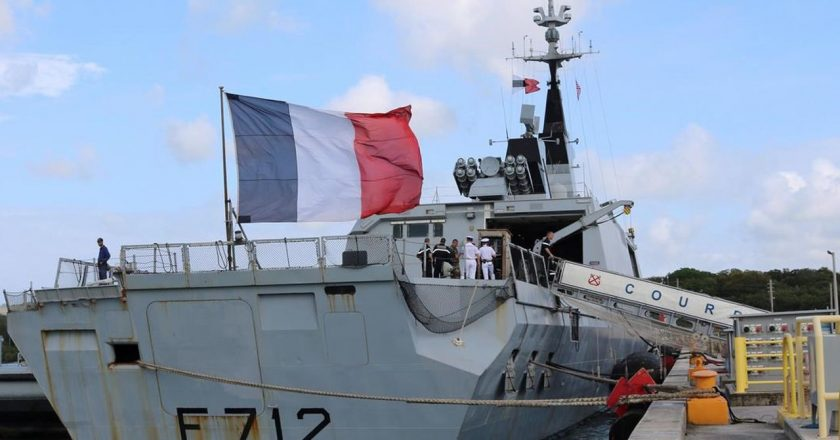 France freezes role in NATO naval force amid Turkey tensions