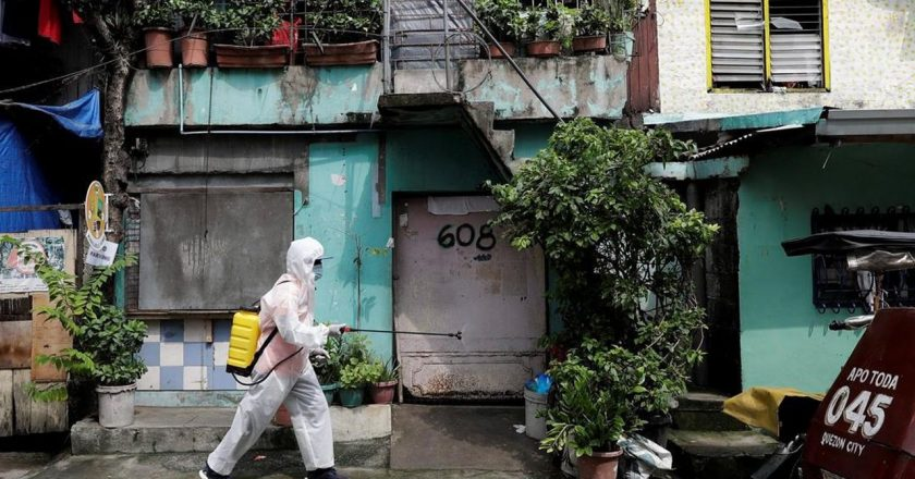 Asia Today: Philippine capital's virus lockdown to be eased