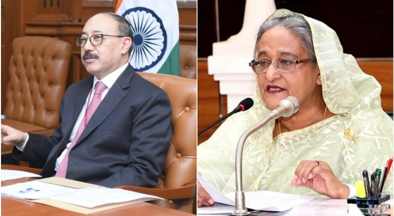 Indian Foreign secy's visit to Bangladesh centred on Sheikh Mujibur Rahman's anniversary, diplomatic ties