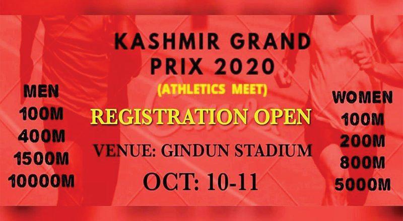 ##  'Kashmir Grand Prix' set to begin on October 10 ##