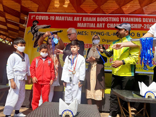 J&K: Martial arts, brain boosting training camp held at IDPS