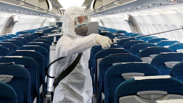China tells airline crew to wear diapers on risky covid flights