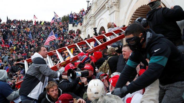 """Beautiful Sight"": China mocks US as protestors break into US Capitol"