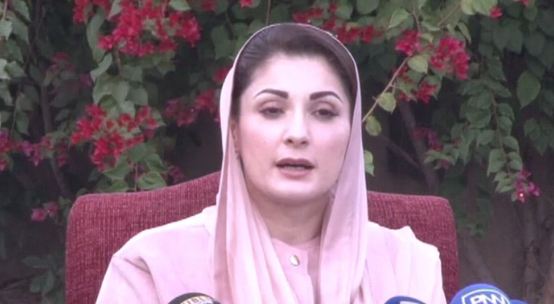 Imran Khan govt will be finished the day Opposition lawmakers resign: Maryam Nawaz