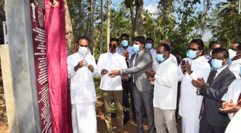 Indian Housing Project commences in Sri Lanka's Galle