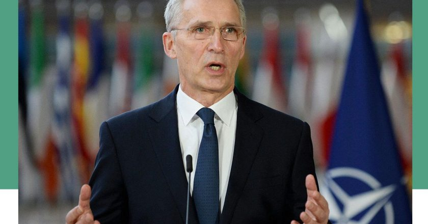 NATO chief raises concern about China's military investment