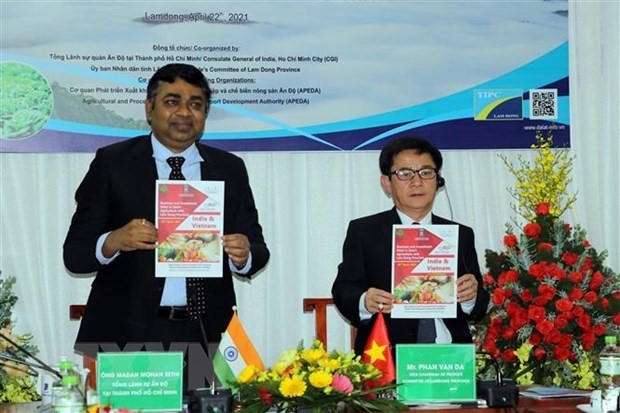 Lam Dong, India seeks stronger agricultural cooperation