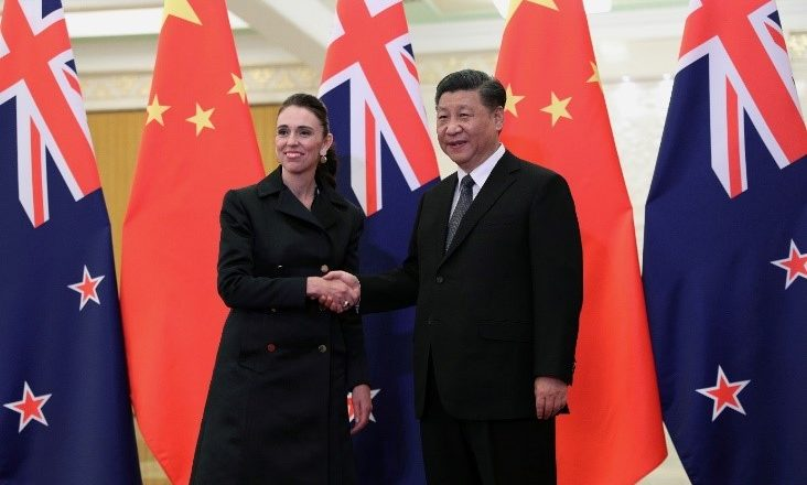 New Zealand's PM says differences with China becoming harder to manage