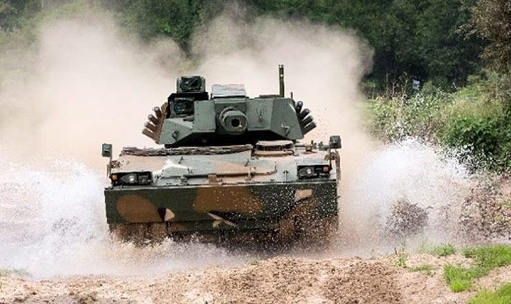 South Korea Offers Its K21-105 Light Tanks for Mountain Warfare to Indian Army.