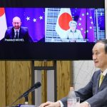 Japan, EU leaders talked about peace and stability: Taiwan Strait