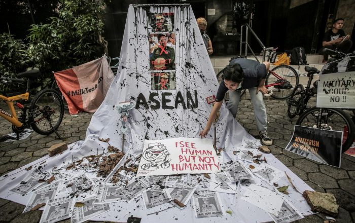 Myanmar: From diplomacy to force