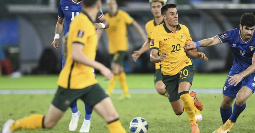 Australia resumes WCup qualifying with 3-0 win over Kuwait