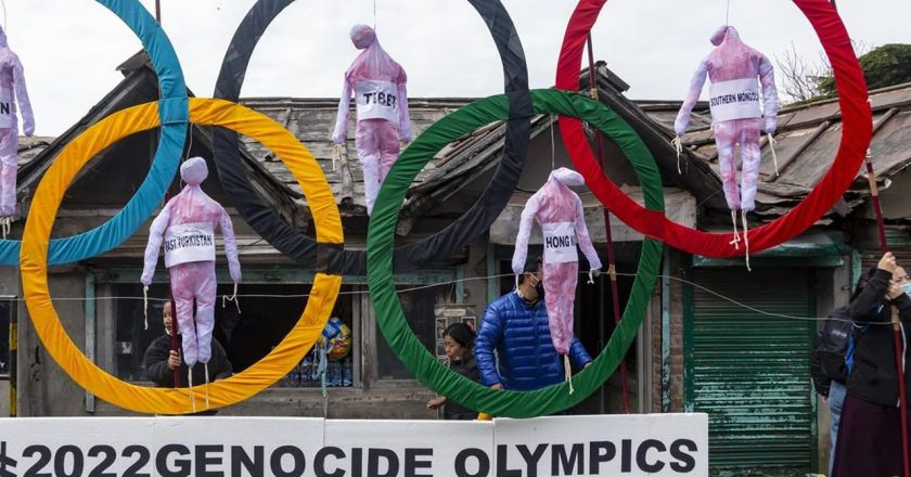 AP Exclusive: Full-blown boycott pushed for Beijing Olympics