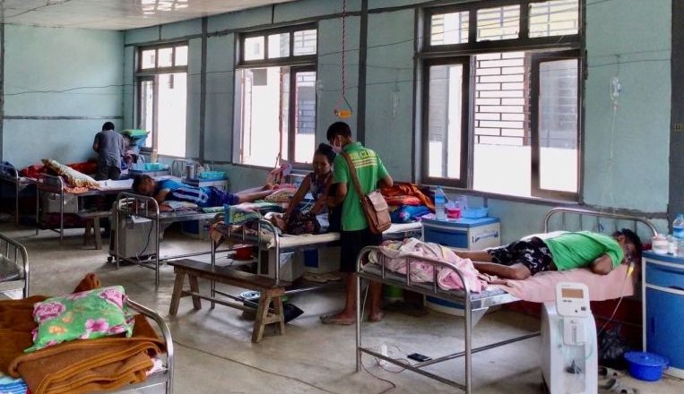 Myanmar Covid-19 outbreak hits health system shattered after coup