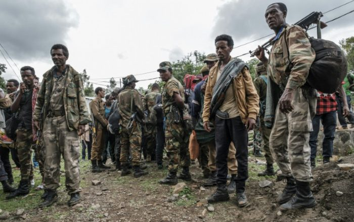 Ethiopia regions send troops to back fight with Tigray rebels