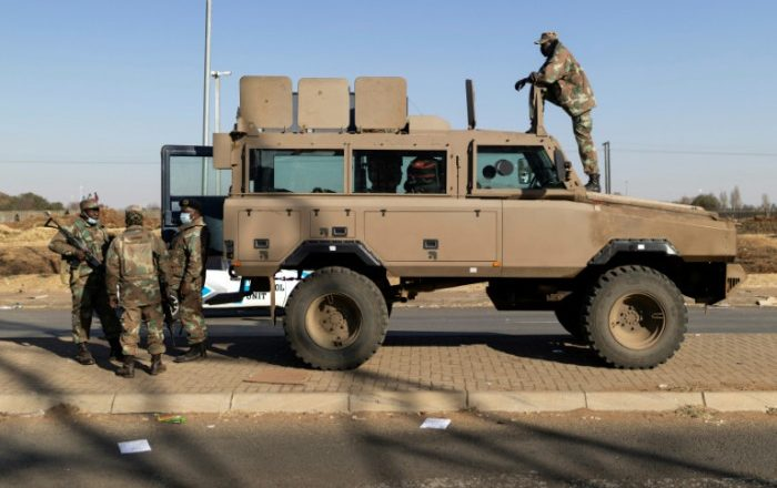 South Africa calls up army reserves in bid to crush looting