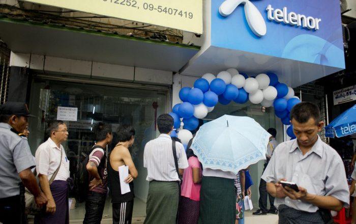 Telenor announces Myanmar exit