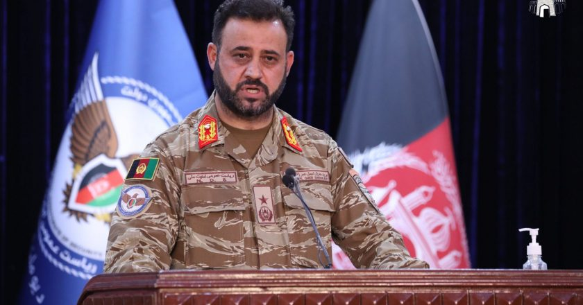 154 operations, 1,528 militants, and 1 Afghan force ANDSF kill