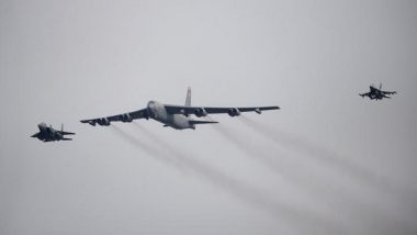 US B-52 Bombers attacked Taliban hideouts