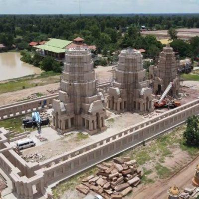 Cambodia to examine 'Angkor Wat replica' in Buri Ram