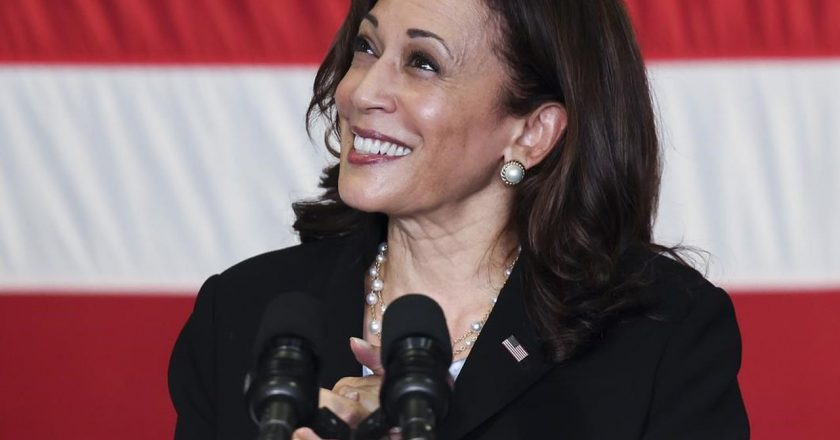 Harris rebukes China in speech on Indo-Pacific vision