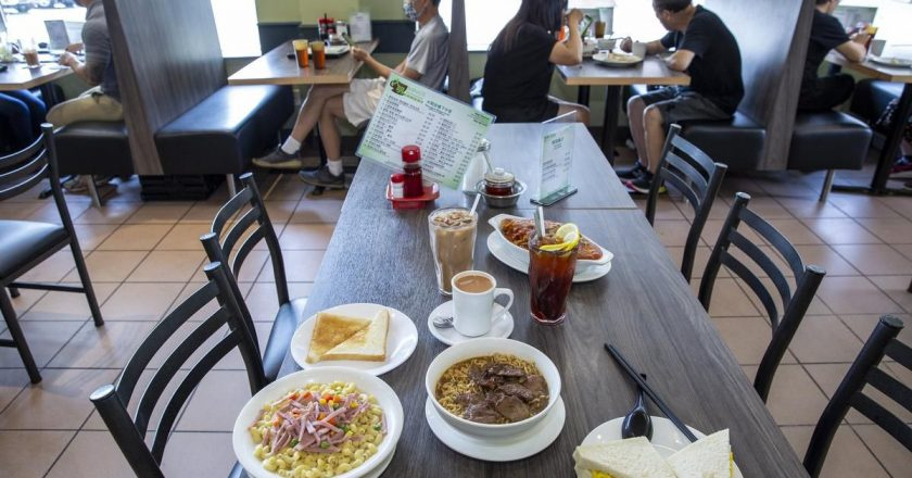 Hong Kong-style cafés boast vast menus that reflect the steeped cultures of the region. Here's what you should order