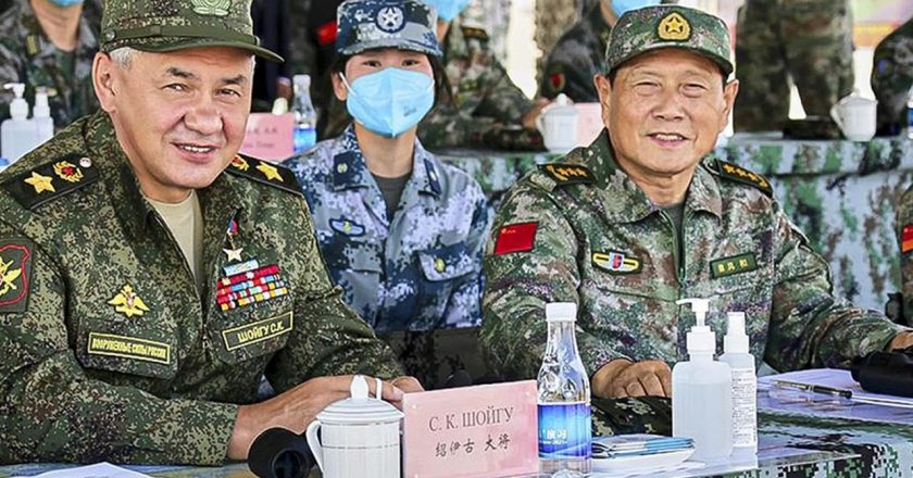China making world believe in its military power to win over minds.