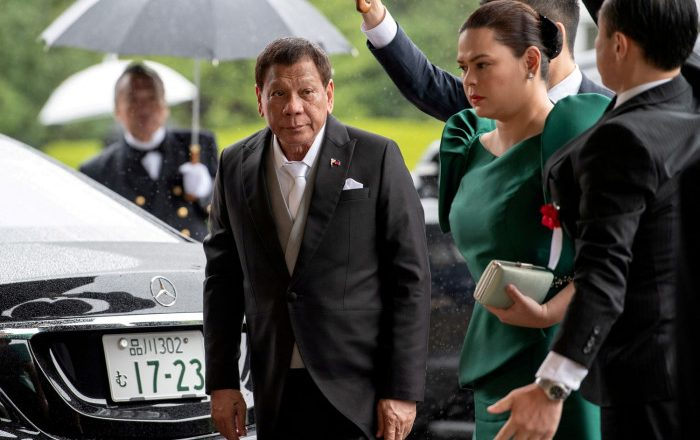 Duterte daughter says has 'running mate' offers for poll